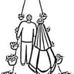 Auszug Brautpaar Kirche